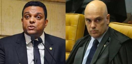 """Moraes intima deputado que falou em """"guerra civil"""" ao criticar o STF a depor na PF"""