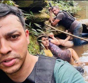 VÍDEO: PM divulga imagem dos reféns do maníaco do DF na hora em que são resgatados