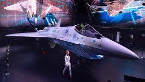 """Rússia apresenta protótipo do seu novo caça de combate de 5ª geração, o """"Checkmate"""""""